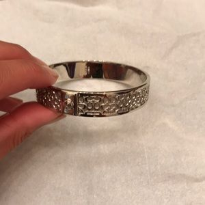Coach Sterling Silver Bangle